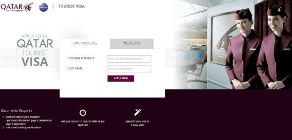 Di bulan Desember, Qatar Airways meluncurkan fasilitas jasa aplikasi pengajuan visa secara online lewat situs webnya. ©All rights reserved
